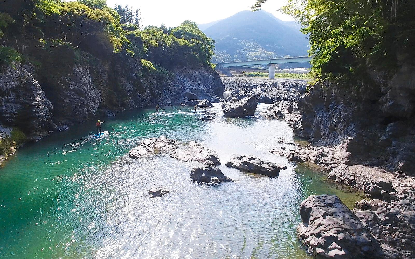 富士川SUP