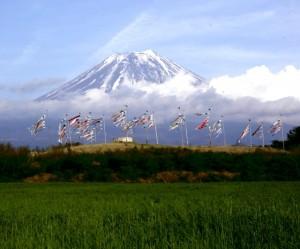 富士山景色スポットと富士川ラフティング時期