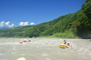 富士川ラフティング、ラフティング、川遊び、アクティビティー、静岡観光、富士山麓